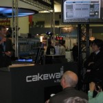 Cakewalk's CEO Greg Hendershott at Cakewalk Booth