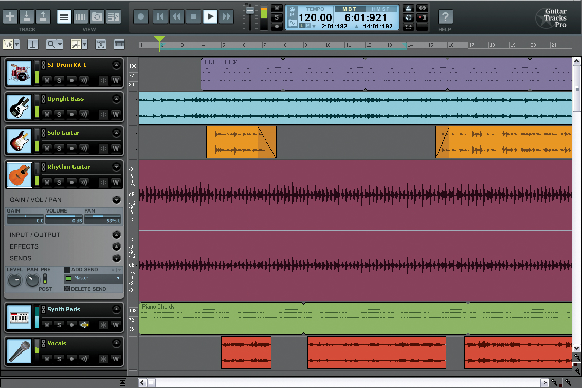Amplify Your Home Recordings With Guitar Tracks Pro