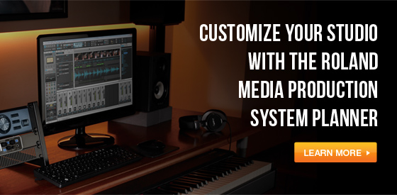 Roland Media Production System Planner