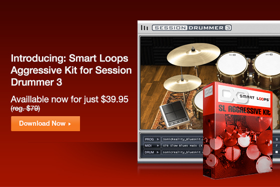 Free MultiTrack Drum Loops And New Drum Kit From Smart Loops