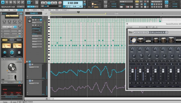cakewalk sonar x3 how to enable quick start