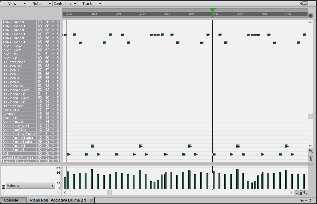 Drum Maps for Addictive Drums 2 in SONAR