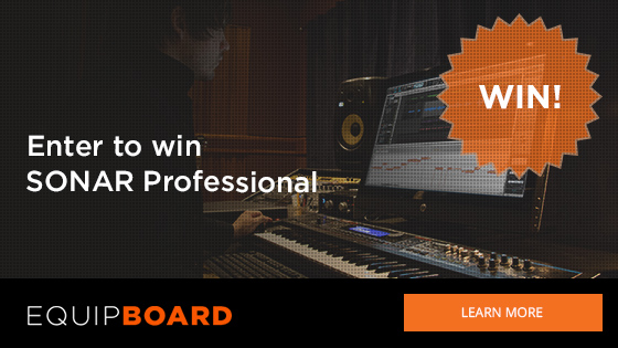 Equipboard SONAR Professional Giveaway