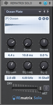 Plate Reverb Example