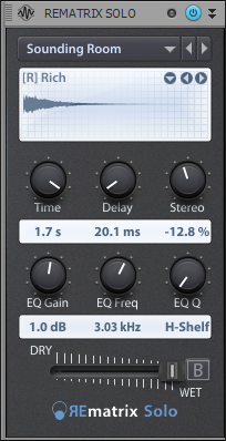 Room Reverb Example