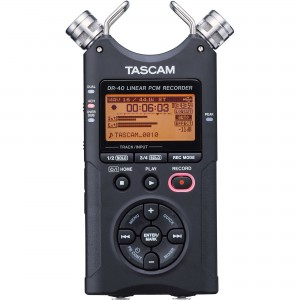 Tascam DR-40 Field Recorder
