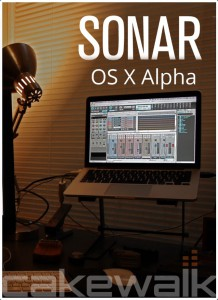 SONAR OS X Alpha for Mac